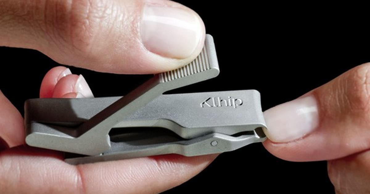 Klhip your fingernails with this $50 personal grooming device