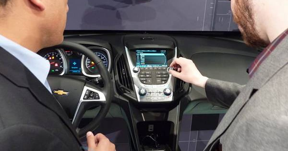 chevrolet launches mylink smartphone integration for 2012 volt and equinox. Black Bedroom Furniture Sets. Home Design Ideas