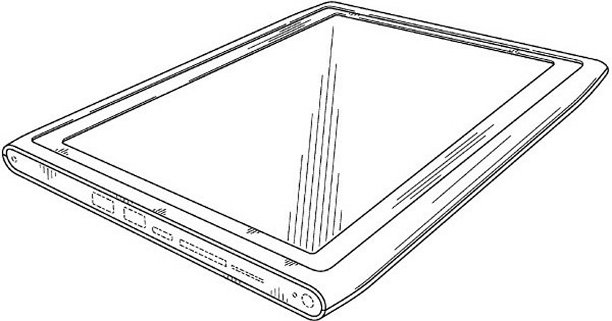 Nokia collects design patent for a tablet, evokes N8
