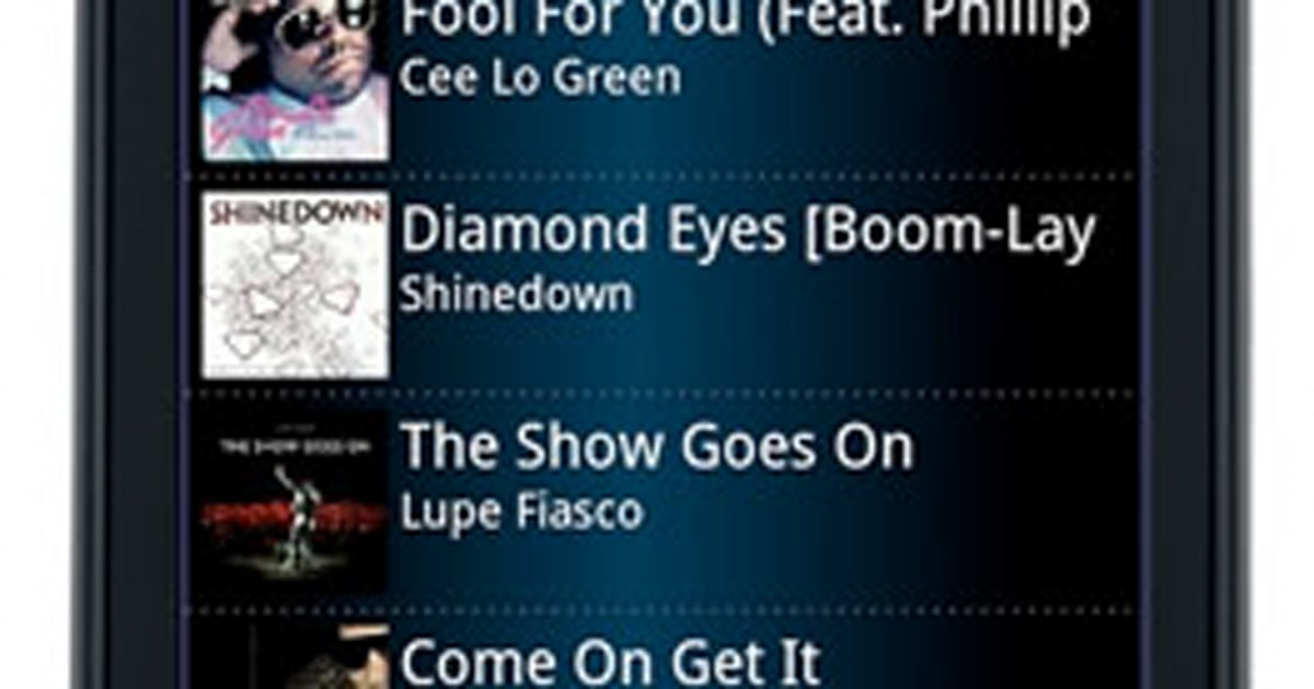 Sprint Music Plus app gives users yet another mobile jam