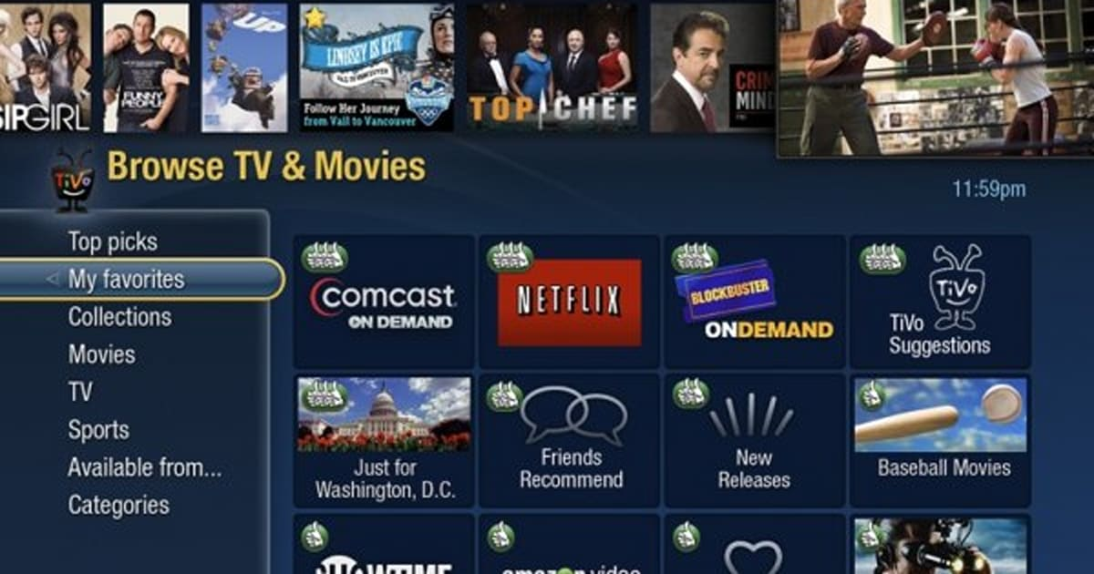 Comcast will open up its video on-demand to TiVo Premiere