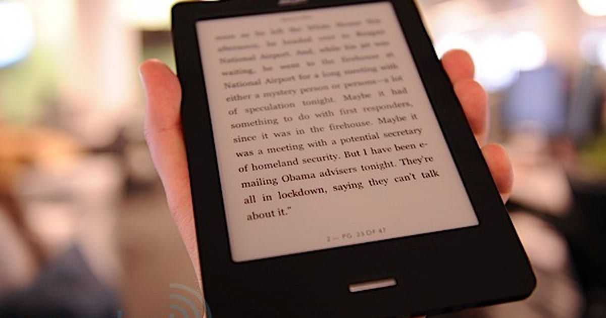 Kobo ereader touch edition review.