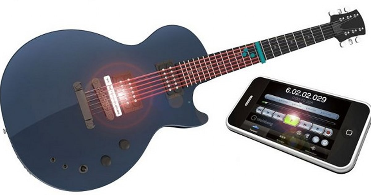 Laser Pitch Detection System Turns Your Axe Into A