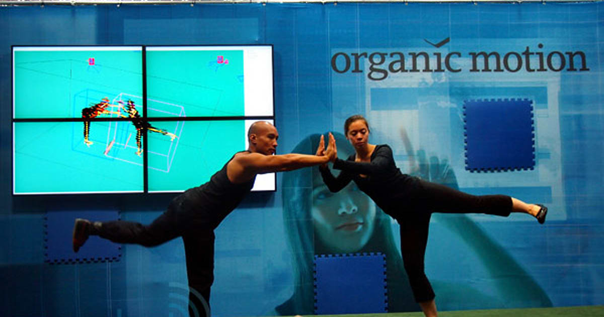 Organic Motion S Openstage Motion Capture System Grabs