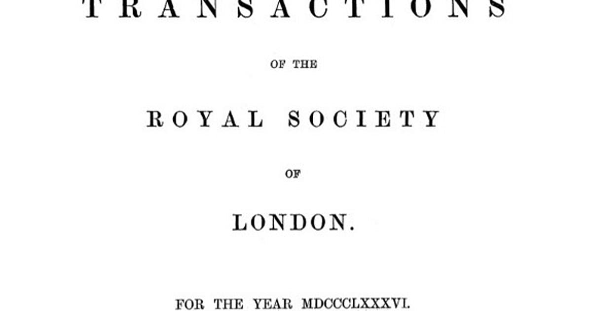 Royal Society opens its archives to the web, is less