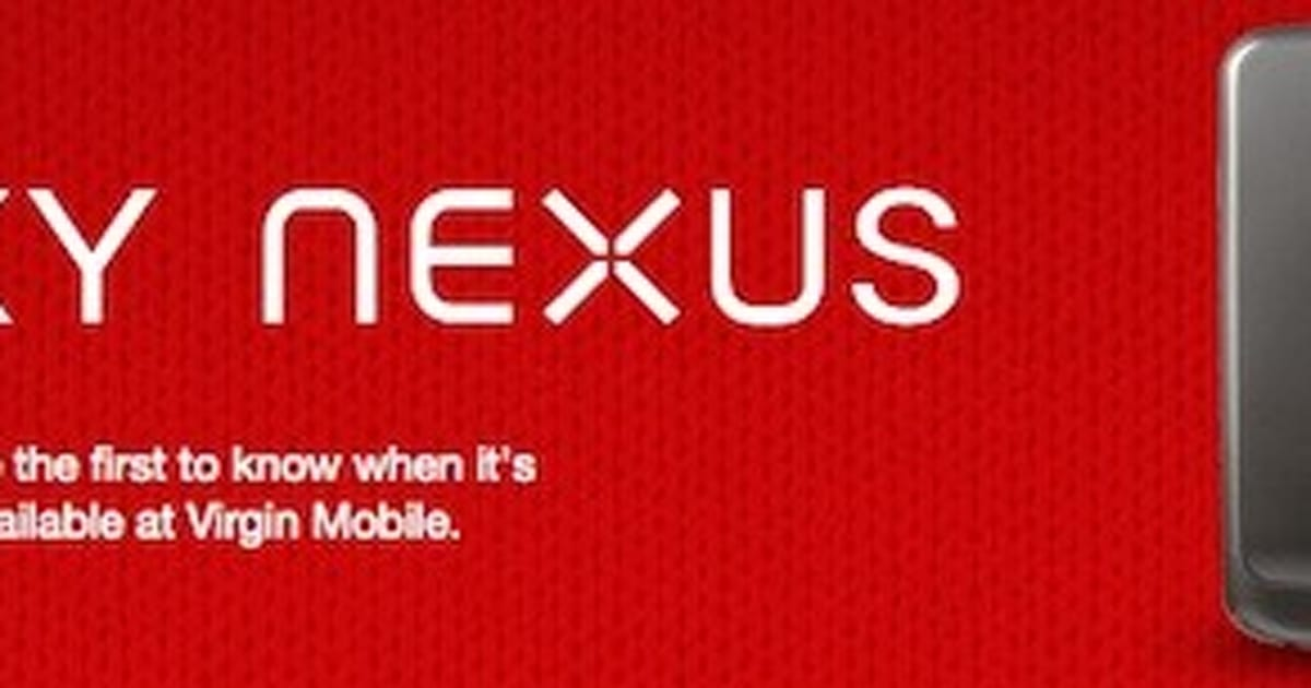 Galaxy Nexus headed to Bell and Virgin Mobile in Canada, Three in
