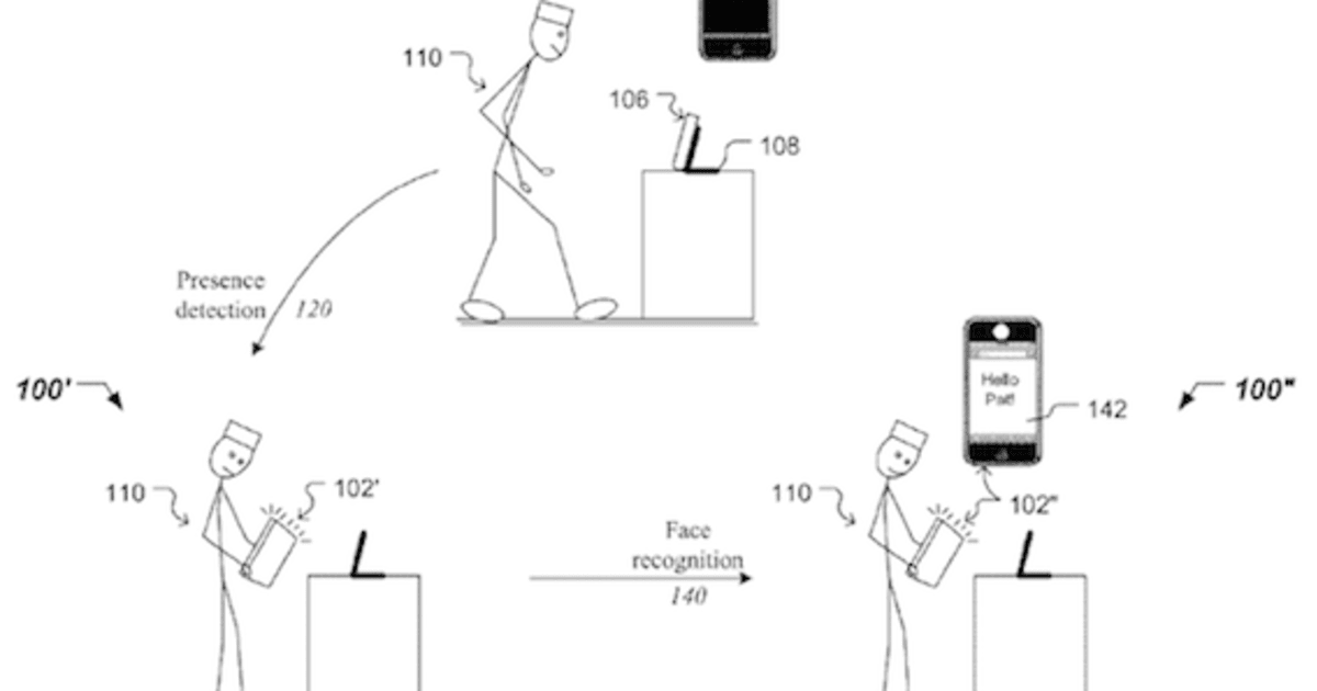 Apple applies for facial recognition patent, wants to let