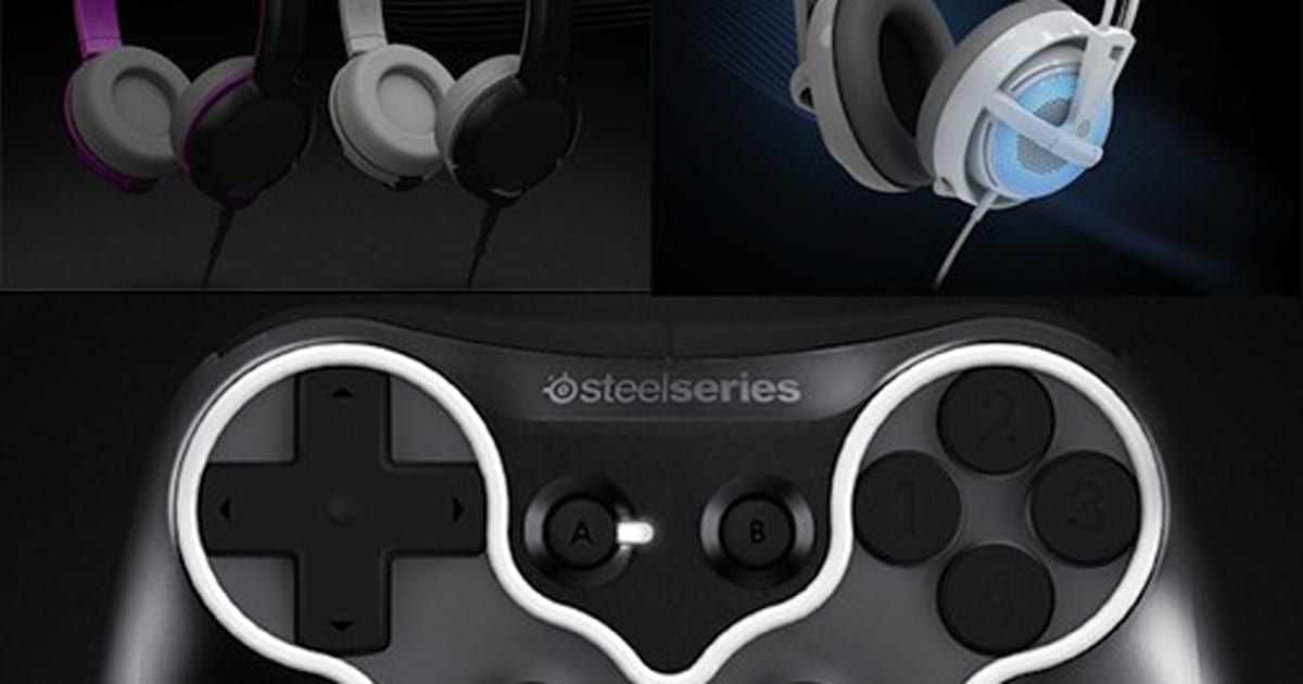6a68395c0e2 SteelSeries drops a bag of CES goodies: two headsets, three mice and one  mobile controller