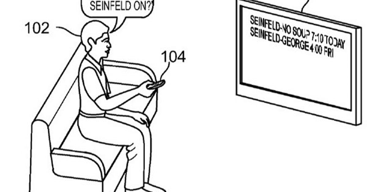 Patent application hints at Voice Actions for Google TV
