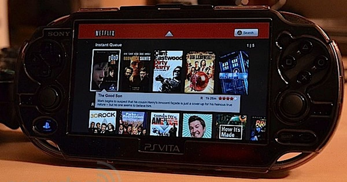 Select Ps Vita Apps Hit The Us Playstation Store Netflix