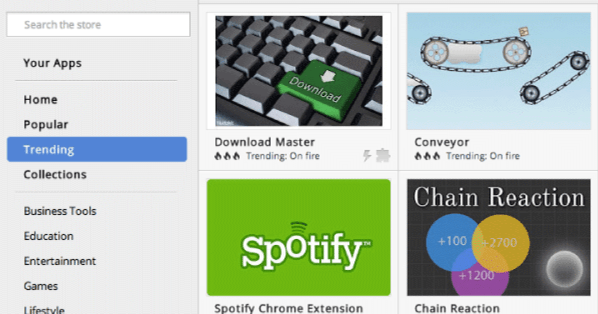 Google updates Chrome Web Store with offline badges