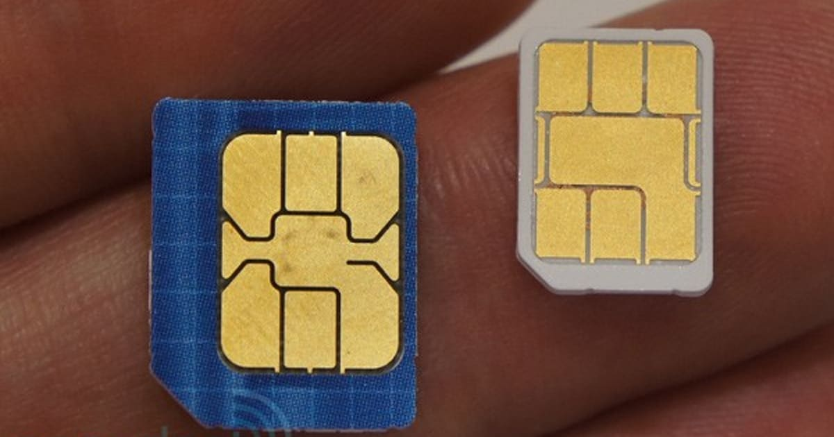 Some SIM cards can be hacked 'in about two minutes' with a pair of