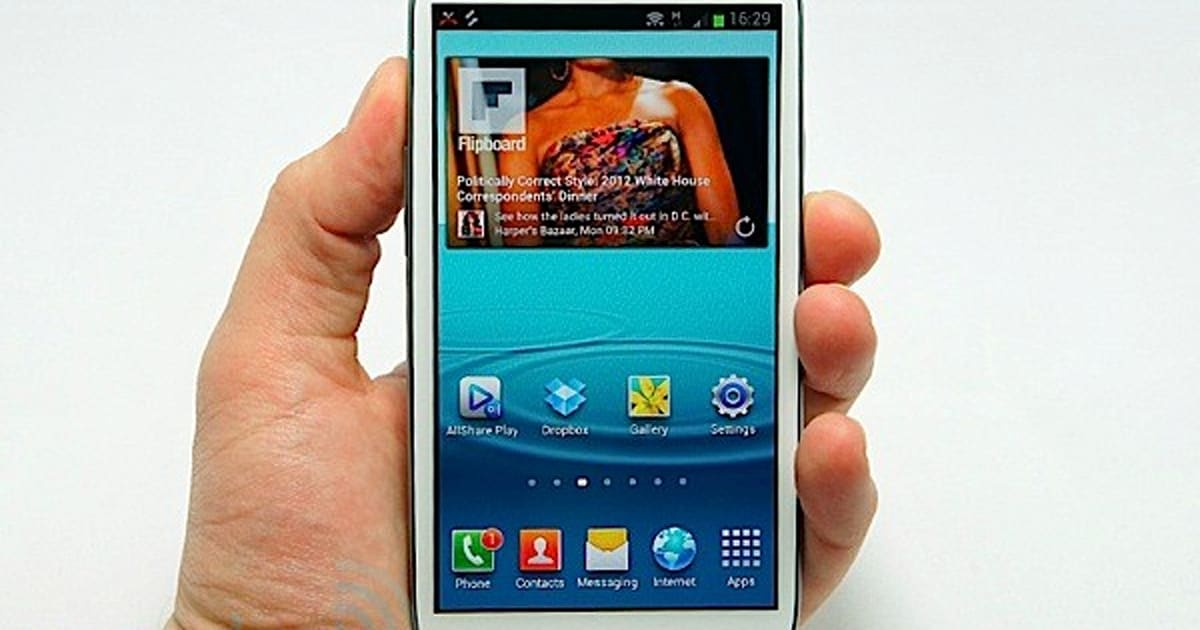 Samsung Galaxy S Iii Preview Hands On With The Next Android