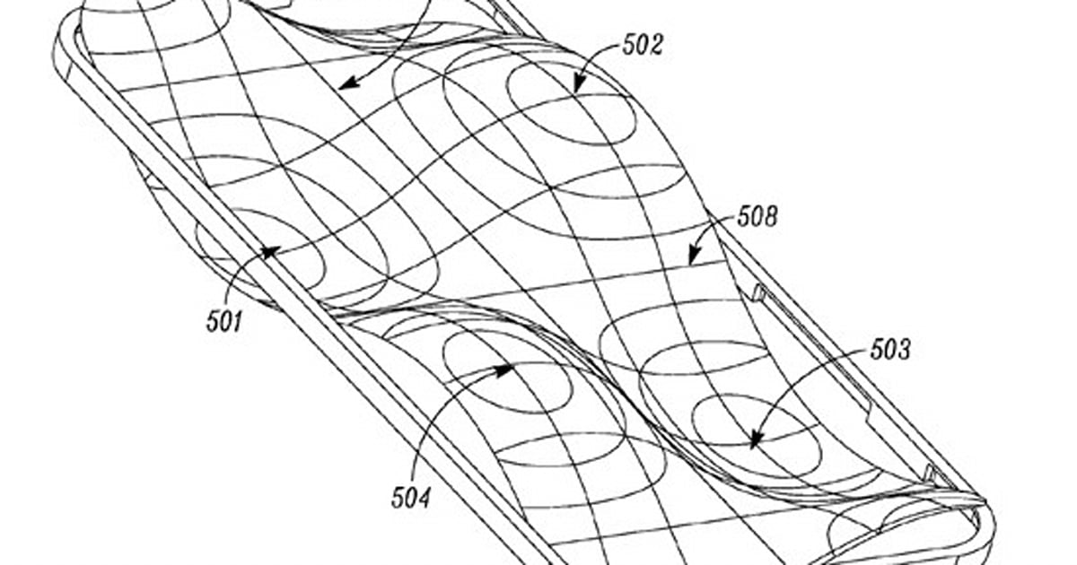 'Free form' lens over mobile display could improve audio