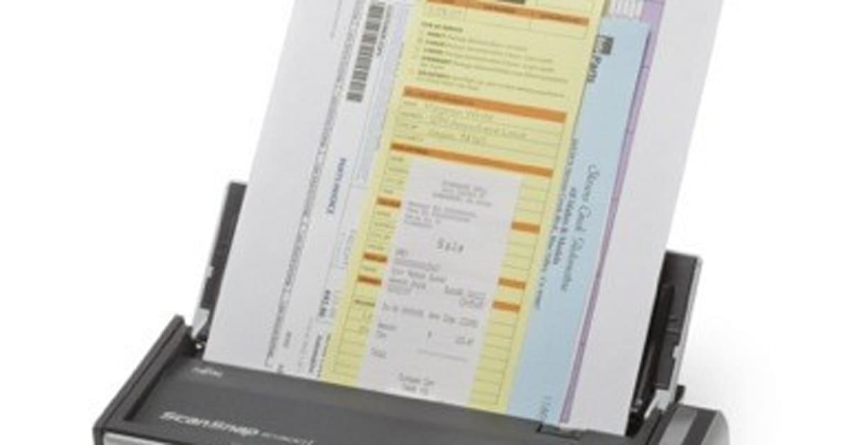 Fujitsu ScanSnap S1300i delivers scans to Android or iOS, spreads ...