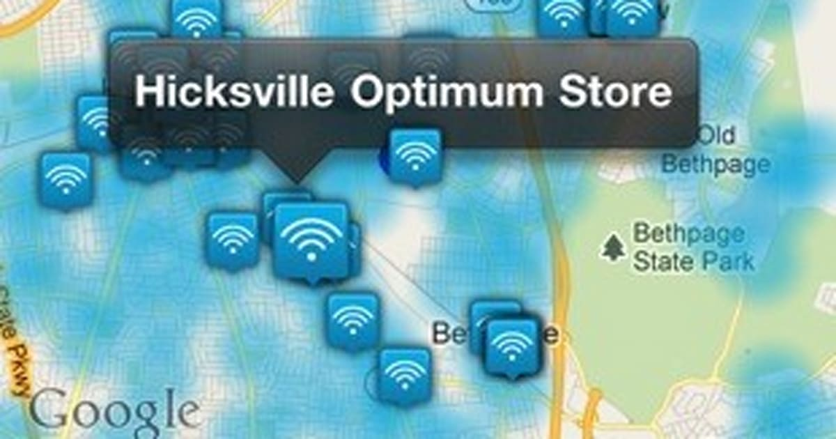 Cablevision Launches IOS App To Track Down Optimum WiFi