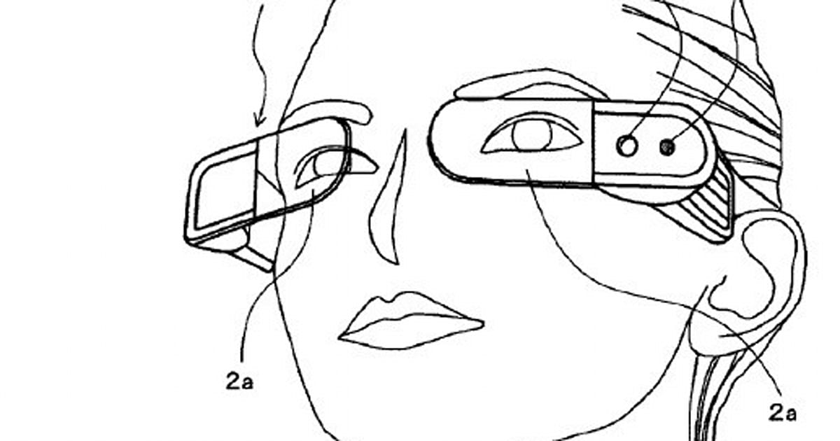 Sony patent filing for glasses would share data face to