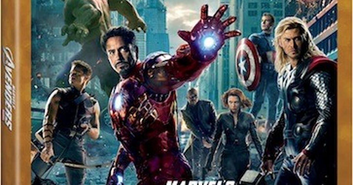 Marvel's The Avengers Blu-ray hits September 25th, iOS second screen