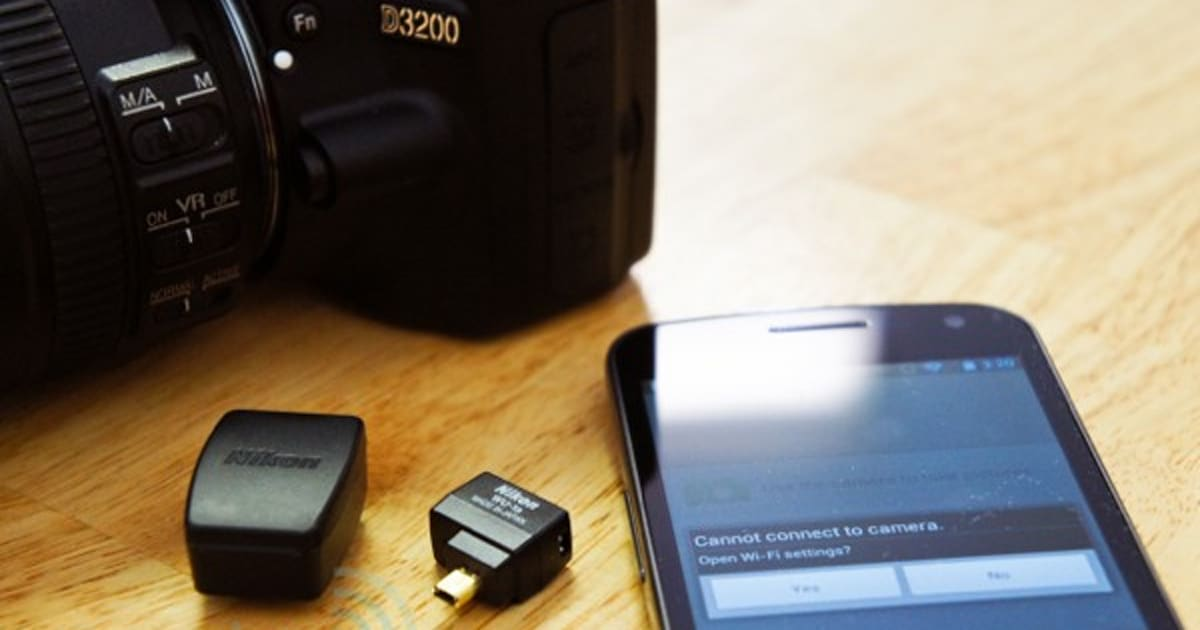 Nikon Wu 1a Wireless Mobile Adapter For D3200 Review Using Android