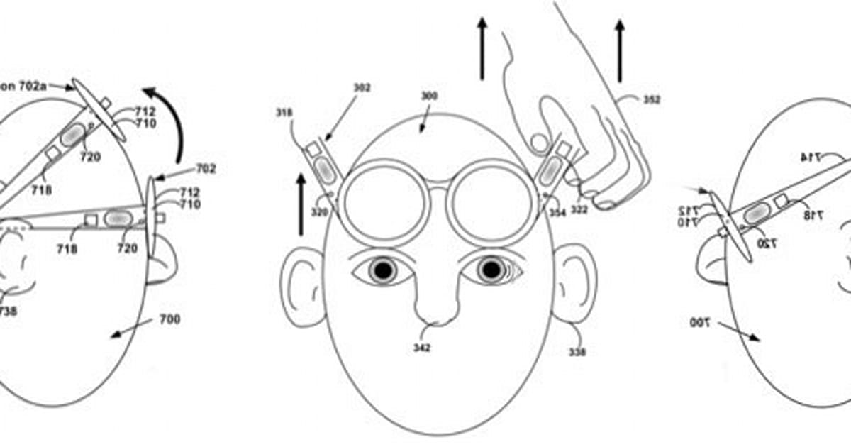 Google patents Project Glass motion-based theft detection