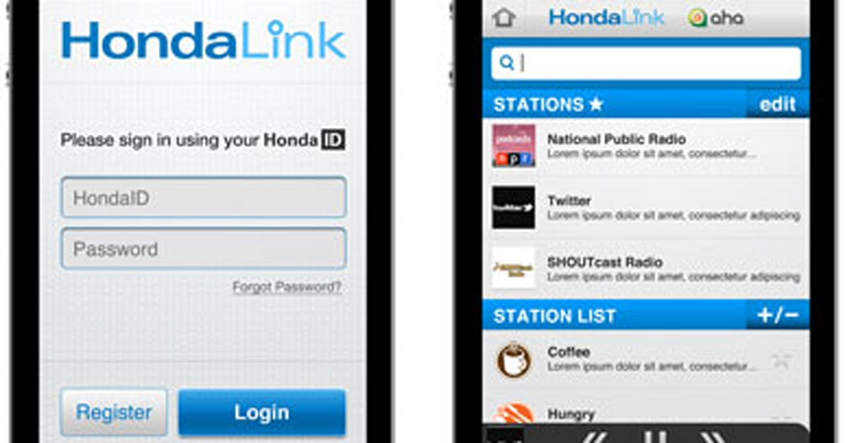 Honda Announces Its HondaLink Infotainment System Teams Up With Aha Radio For The Festivities