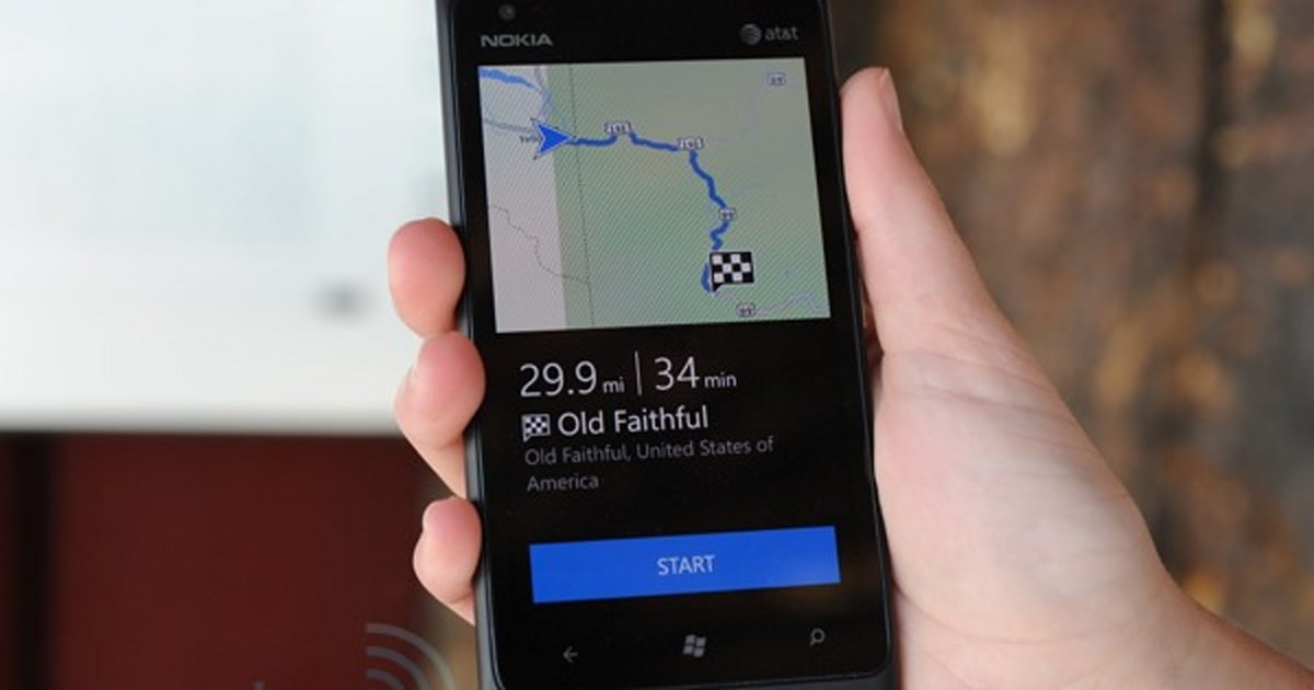 Nokia Drive offline navigation review: taking the Lumia 900 for an