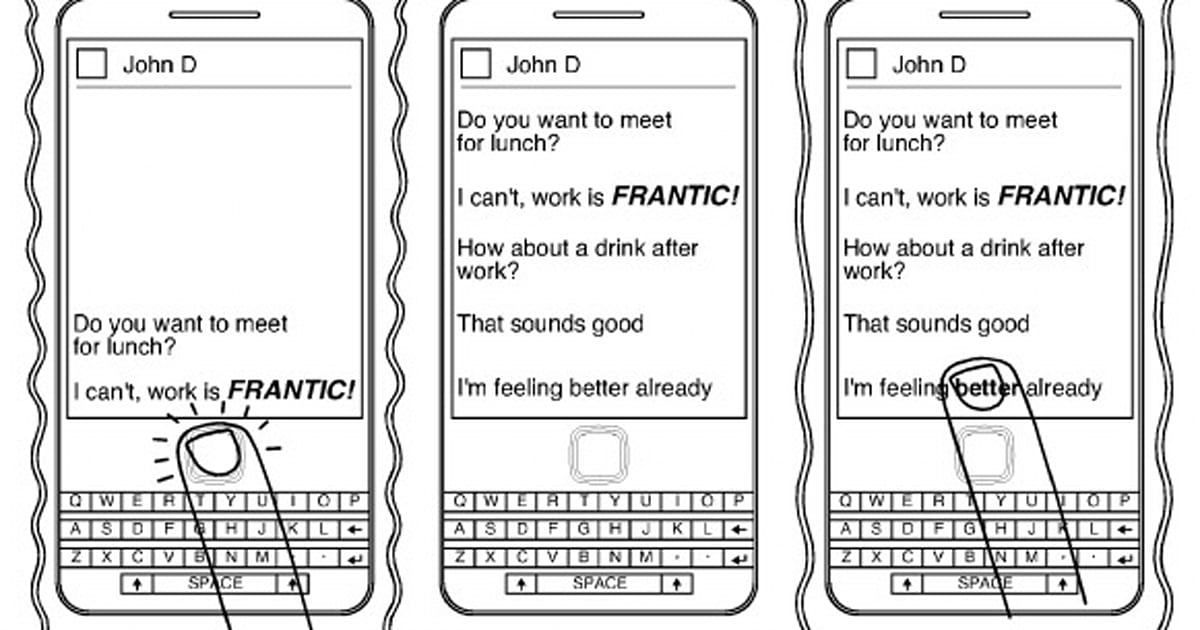 RIM applies for patent on detecting emotion in messaging