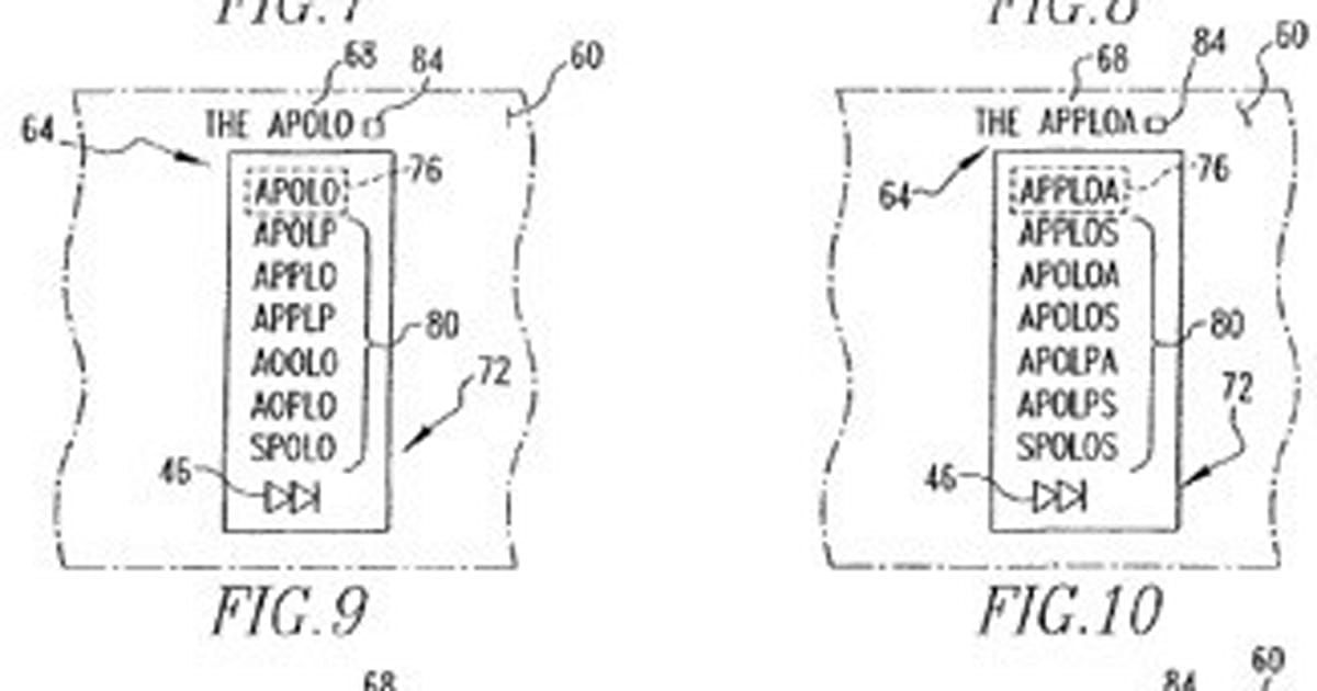 RIM gets patent for logic-based text prediction