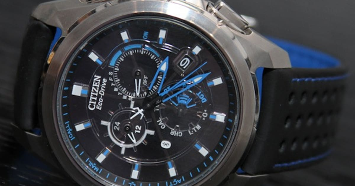 Citizen Eco-Drive Proximity watch notifies iPhone owners ...