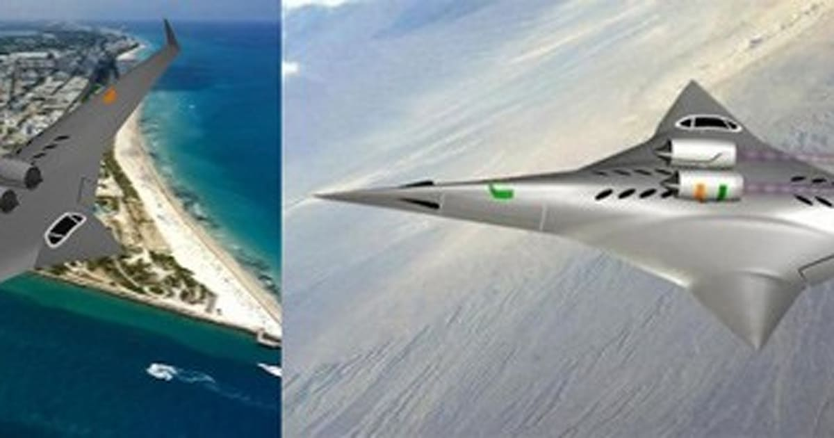 NASA awards $100,000 grant for sideways supersonic plane ...