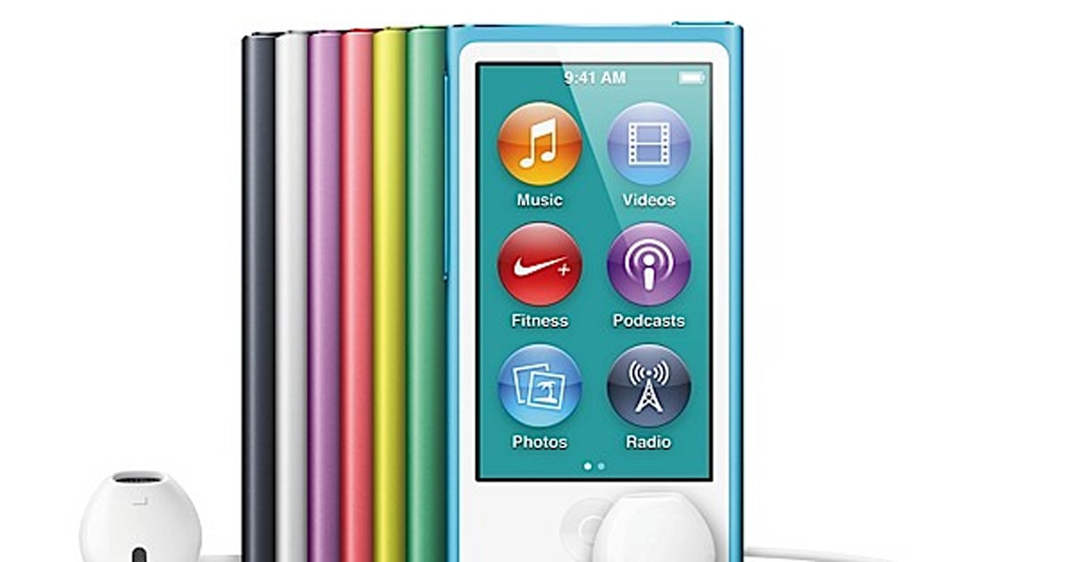 apple refreshes ipod nano 2 5 inch multitouch display 16gb bluetooth available this october. Black Bedroom Furniture Sets. Home Design Ideas