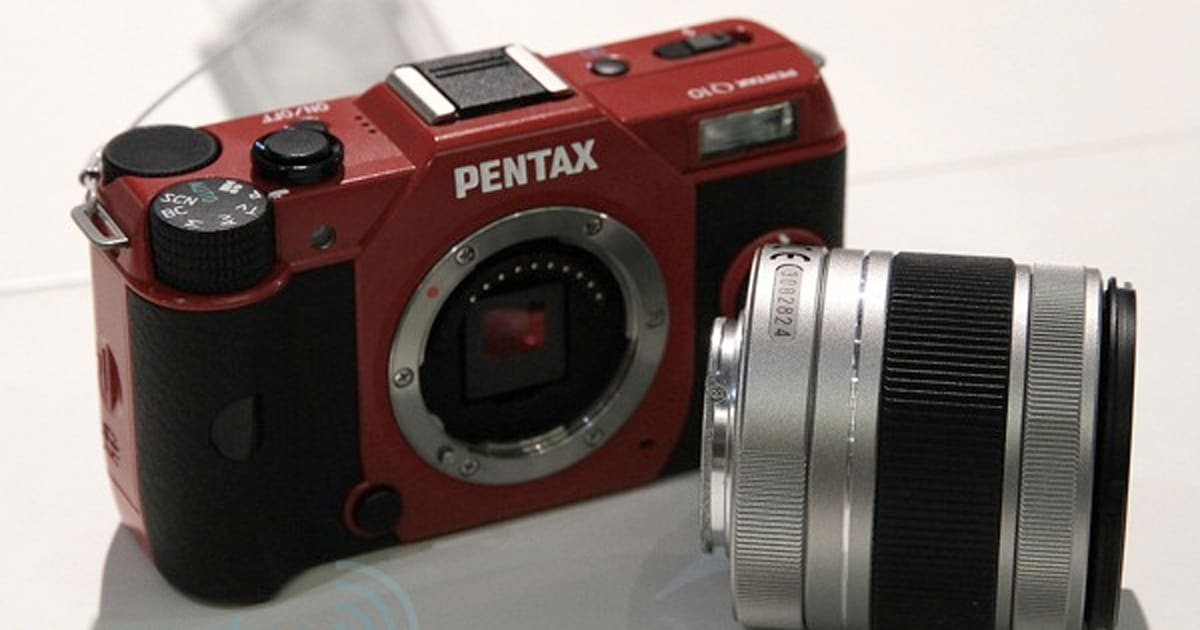 How To Get Lyft Amp >> Pentax's Q10 mirrorless shows its tiny sensor to the world ...