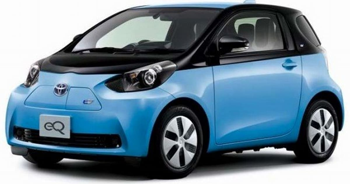 Toyota Plans Dialed Back Launch Of Eq And Iq Ev City Cars