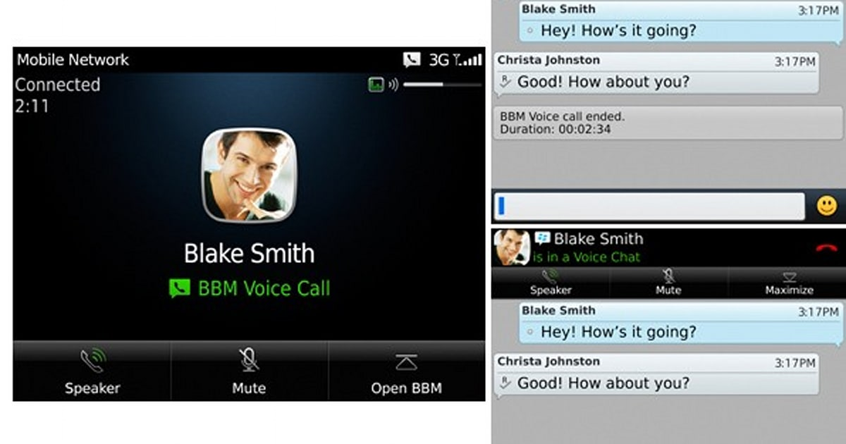 BBM 7 beta is open now, adds Voice feature for free calls