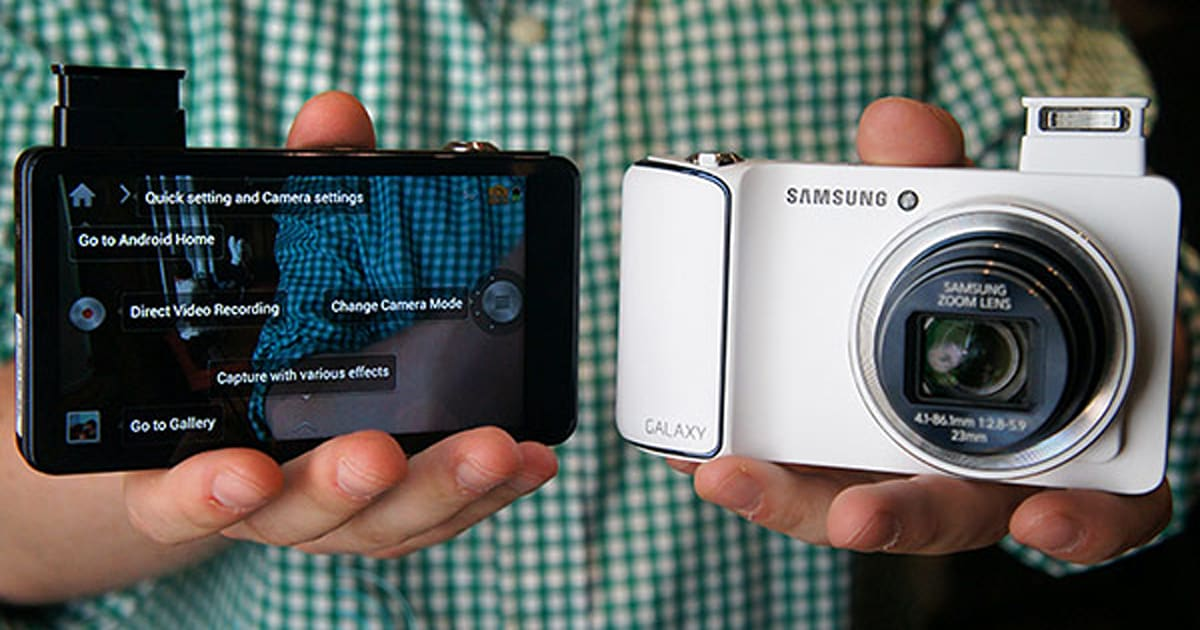 Samsung Galaxy Camera Arrives In The Uk On November 8th