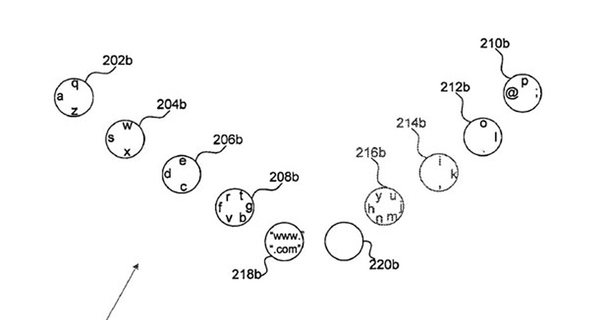 Google files patent application for touch-based, full