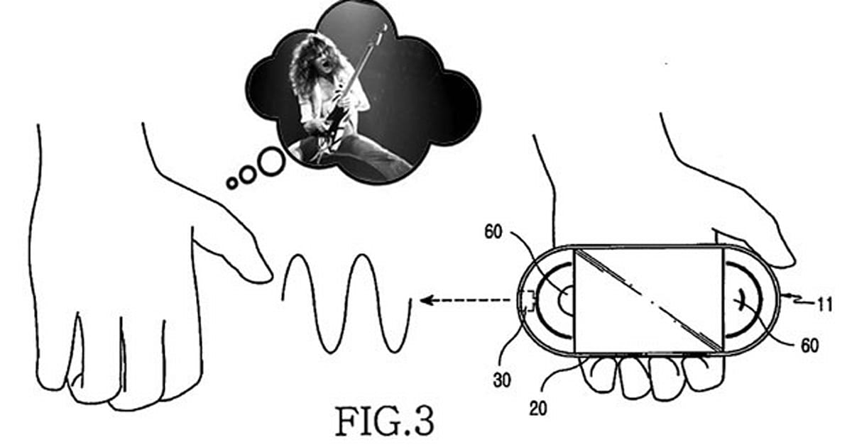 Samsung receives patent for music player that lets you add