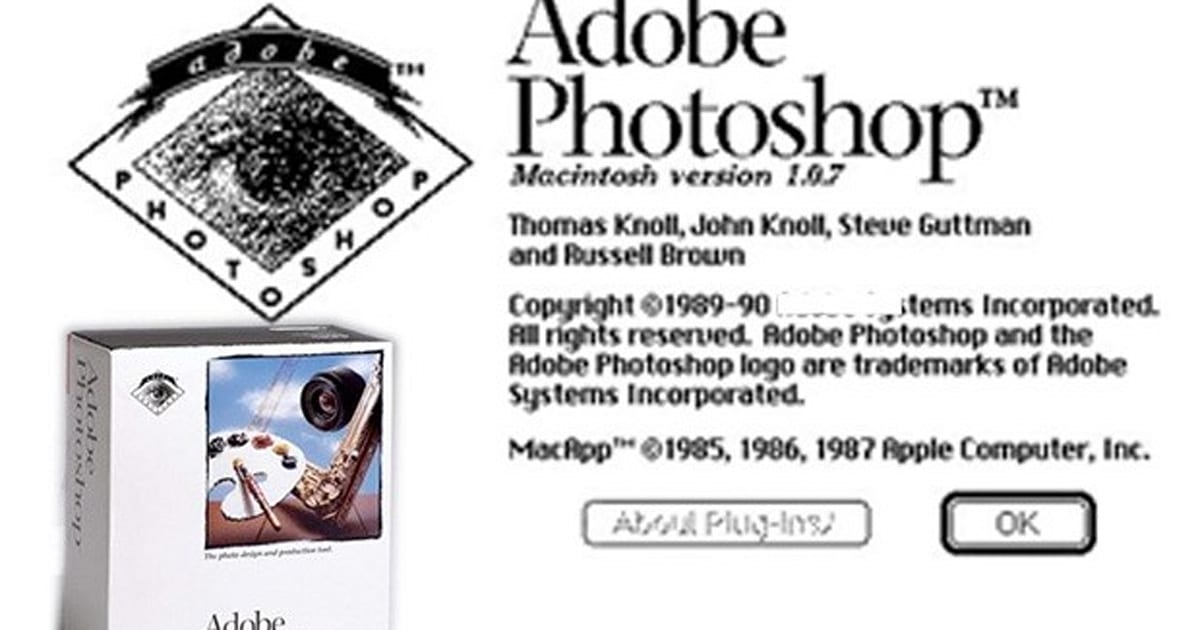 Photoshop v1.0.1 released free to everyone, including