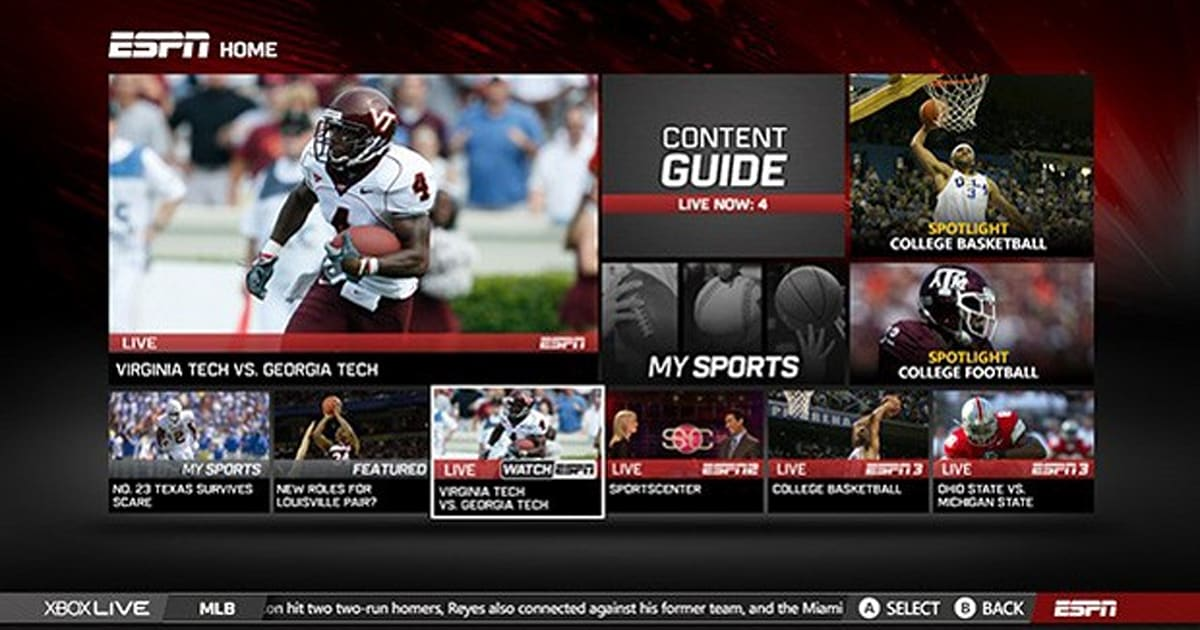 WatchESPN streaming reaches AT&T U-verse subscribers