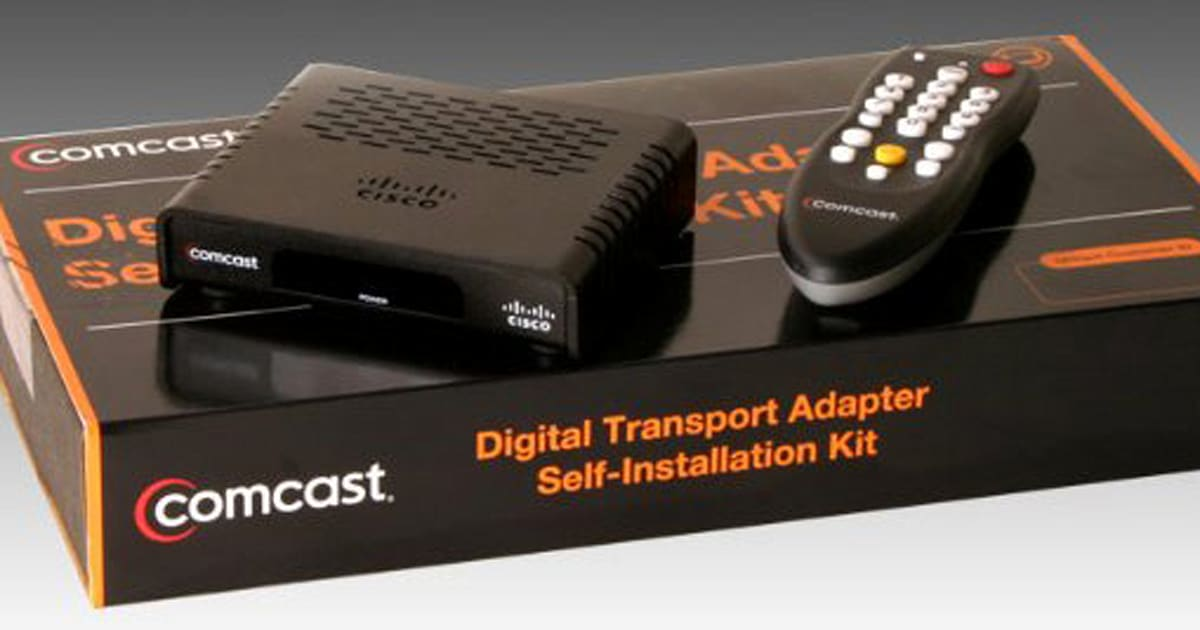Comcast to encrypt basic cable channels, require set-top box