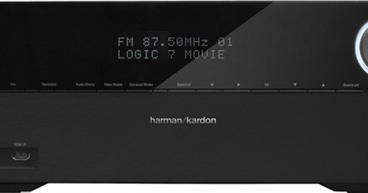 Harman Kardon ships AVR 2700 and 3700 receivers with 4K scaling and