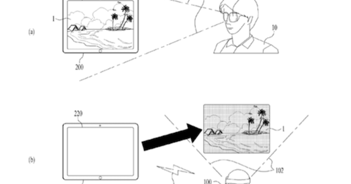 LG's head-mounted display patent ensures you're always