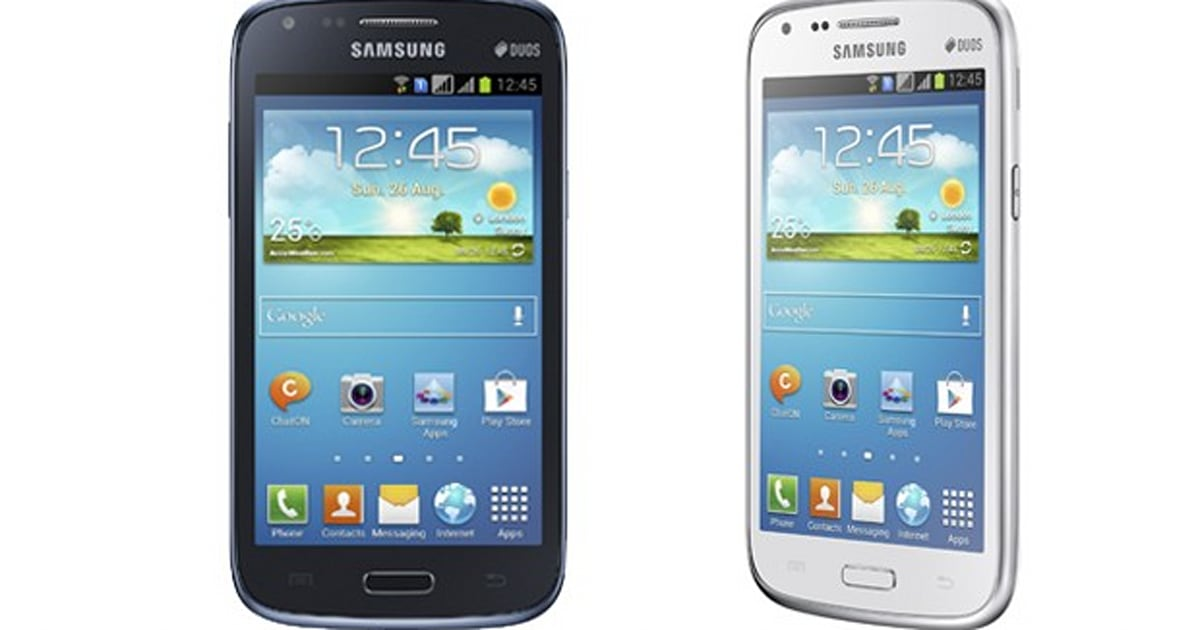 Samsung Galaxy Core is real low end specs 43 inch WVGA
