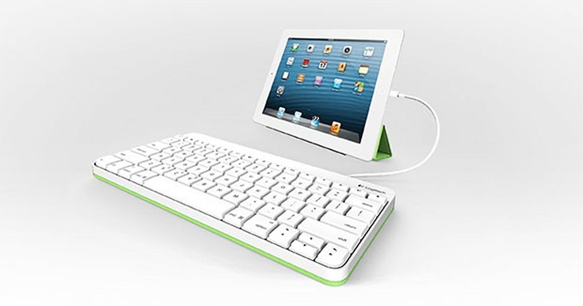 logitech unveils 60 wired ipad keyboard built for classroom abuse engadget. Black Bedroom Furniture Sets. Home Design Ideas