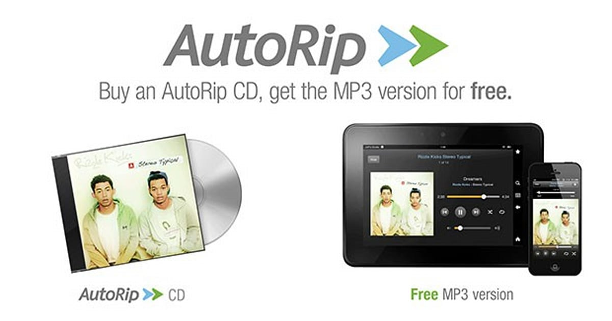 Amazon AutoRip arrives in the UK, offers free MP3 versions