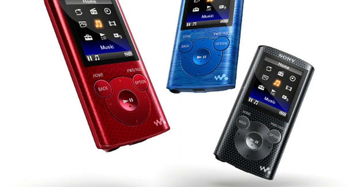 Sony launches two new E-series Walkmen with big batteries