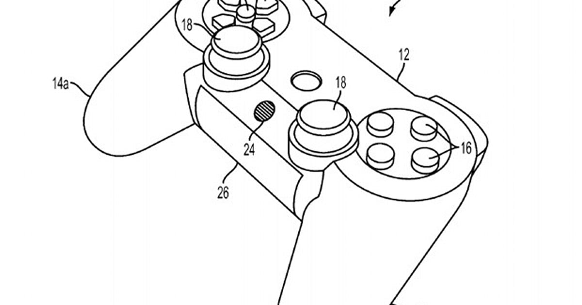 Sony patent application highlights the DualShock 4 that