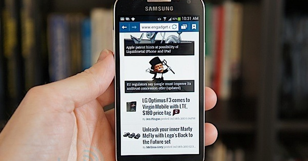 Samsung Galaxy S4 Mini Review Small In Size But Not