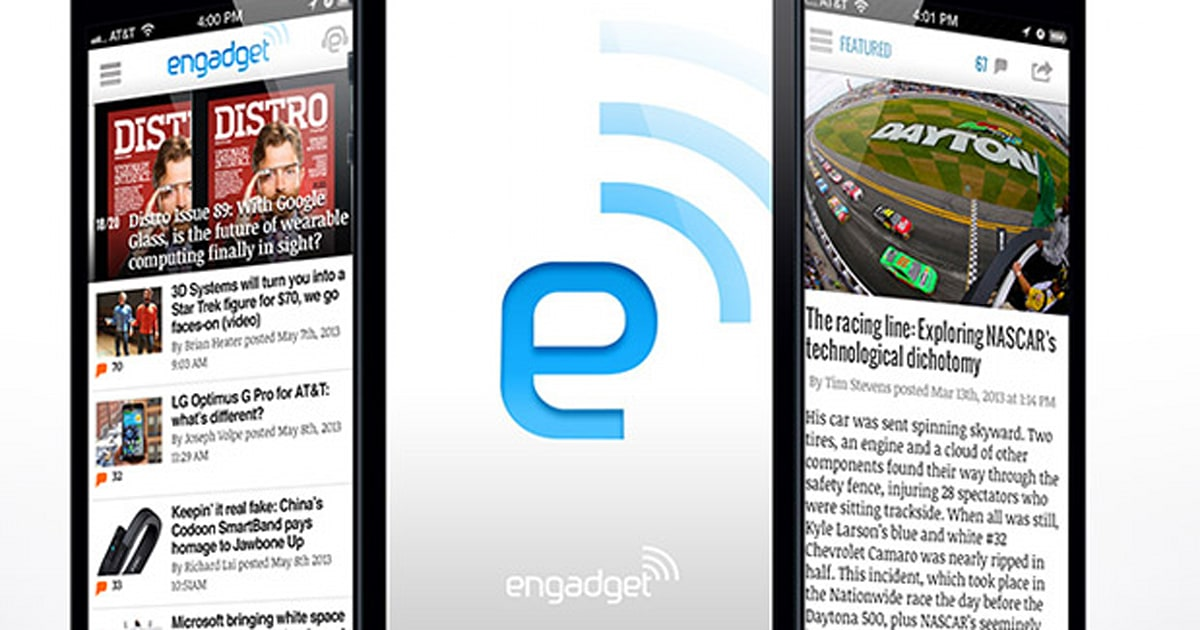 Engadget's iPhone app has been completely rebuilt, and it's