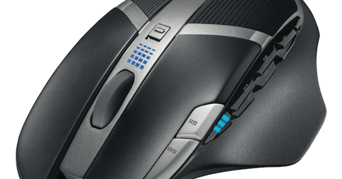 9a6ce20ee9c Logitech's G602 wireless gaming mouse packs massive battery life, 11  programmable buttons